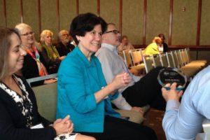 Outgoing Board member </br> Dr. Julie Buring