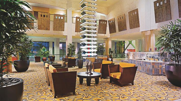 Miami Hyatt Lobby