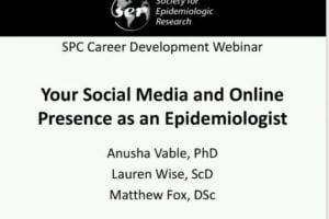 Your Social Media and Online Presence as an Epidemiologist